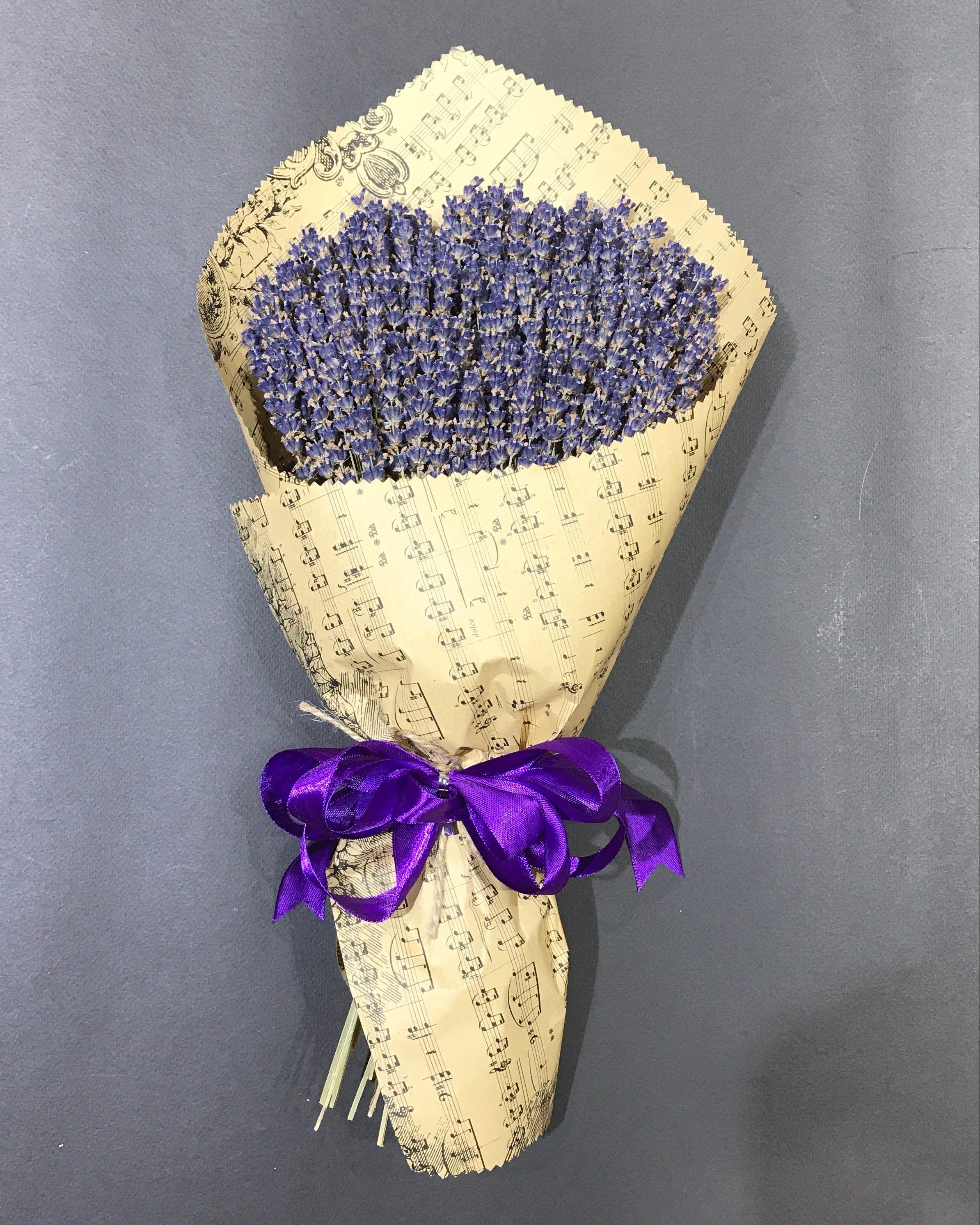 Bó hoa lavender khô Pháp