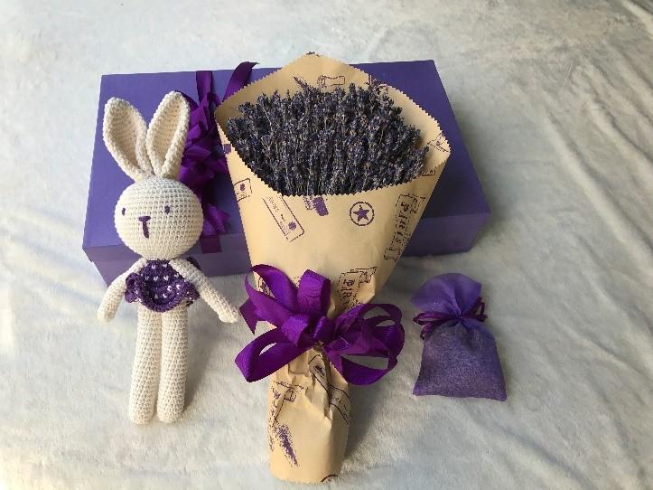 hoa khô lavender