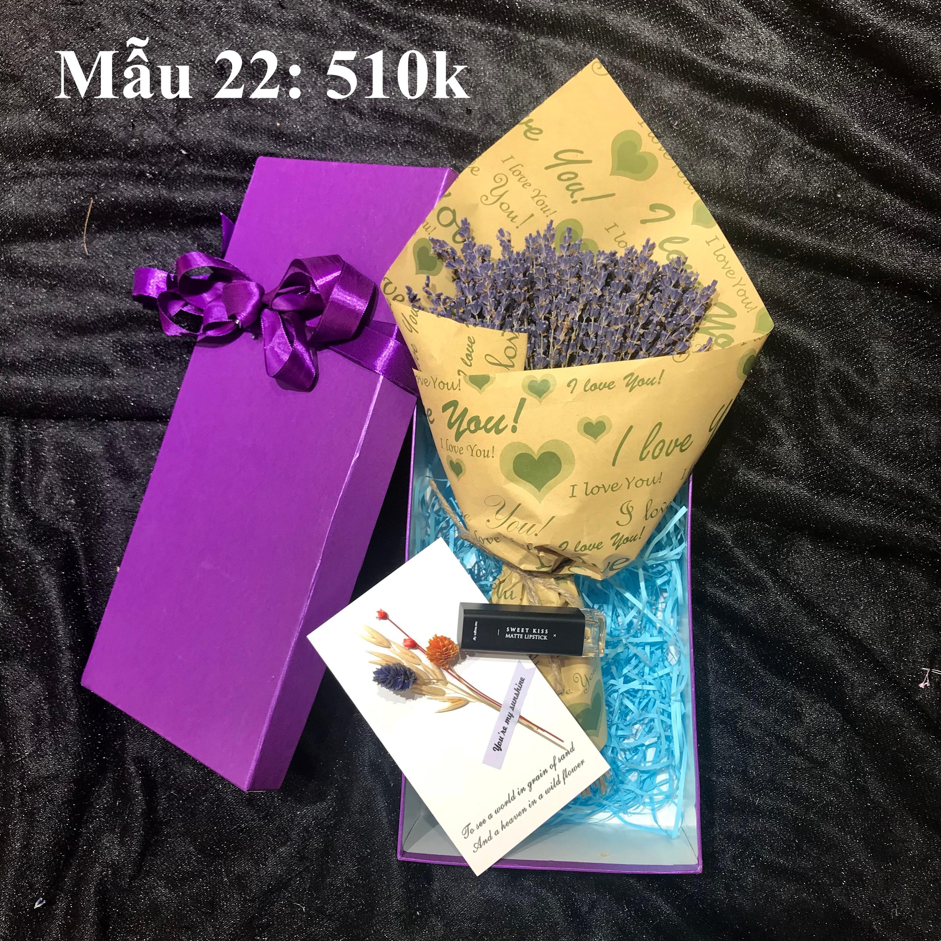 Set quà hoa lavender khô